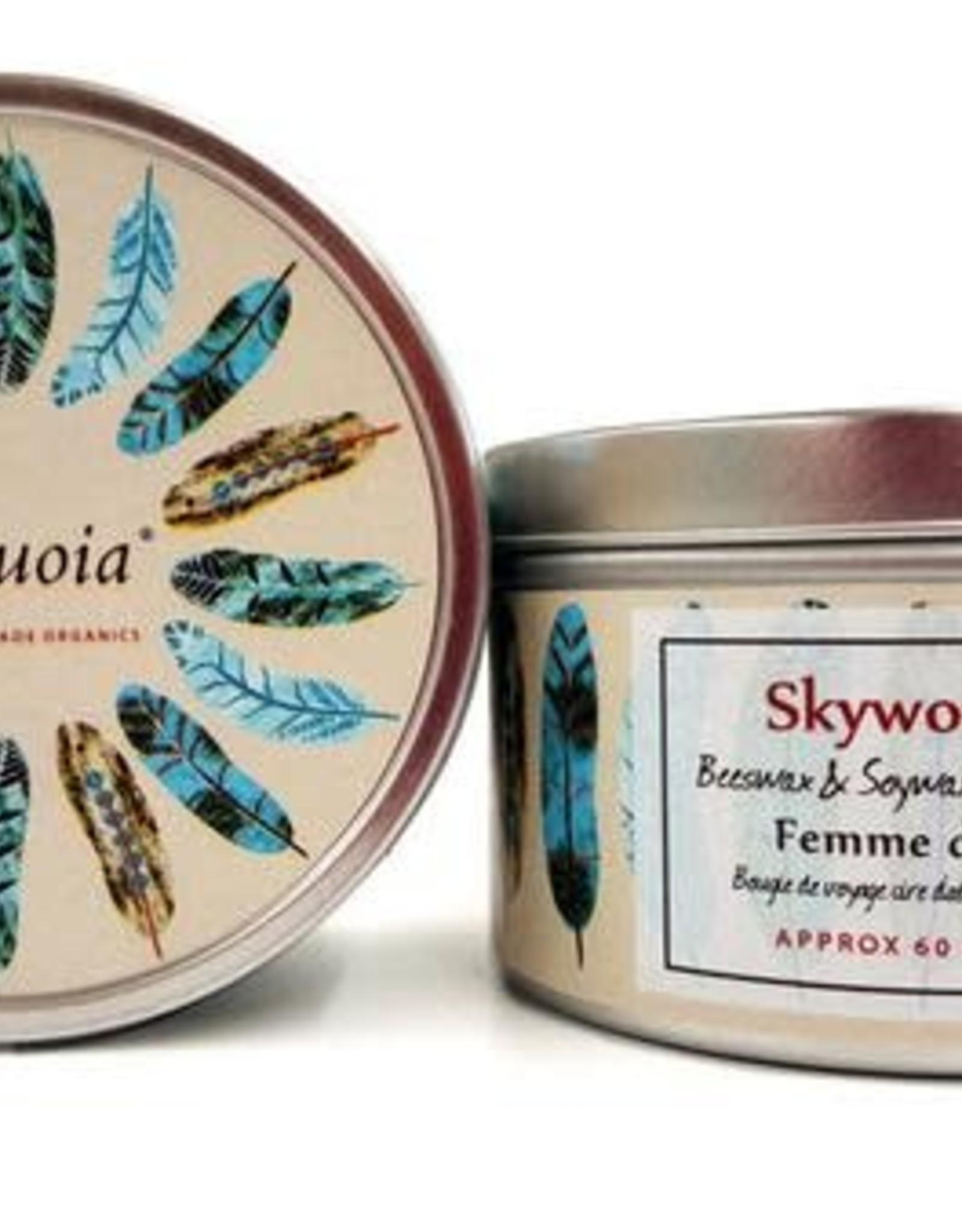 Sequoia 15 HR. Candle - Skywoman