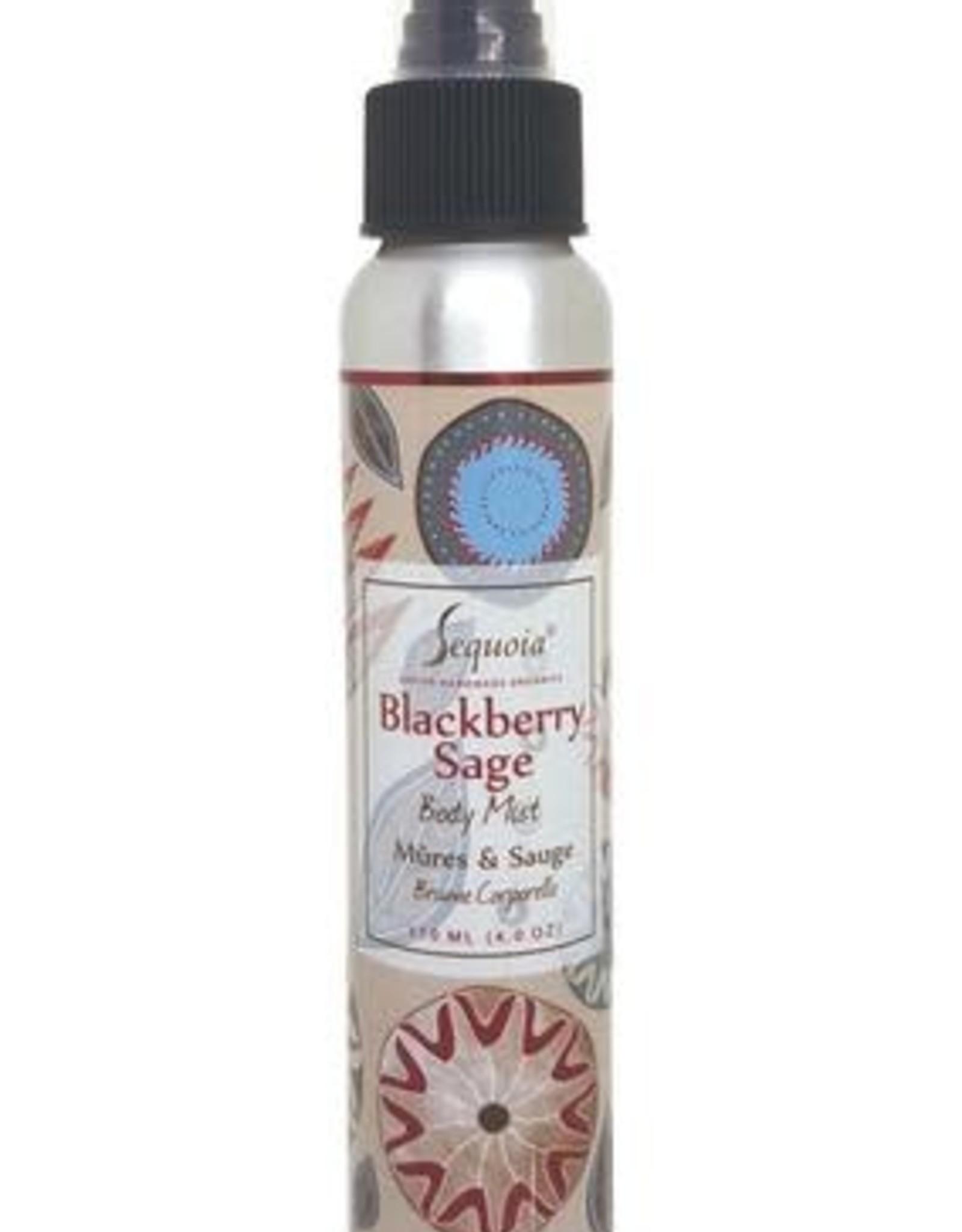 Sequoia 4oz body mist- Blackberry Sage