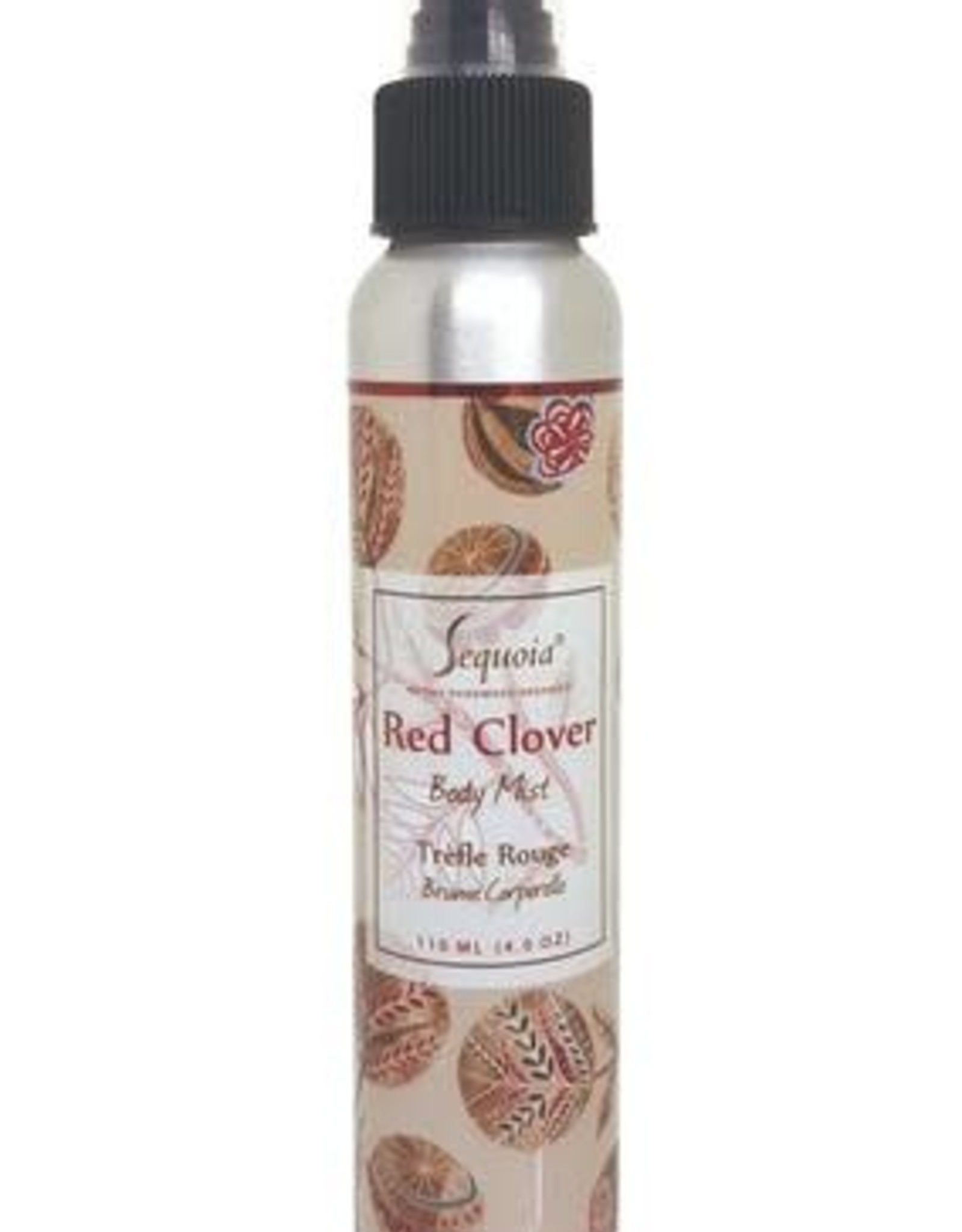 Sequoia 4oz Body Mist - Red Clover