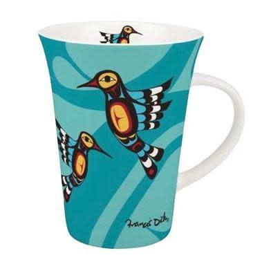 Porcelain Mug- Hummingbird by Francis Dick-1