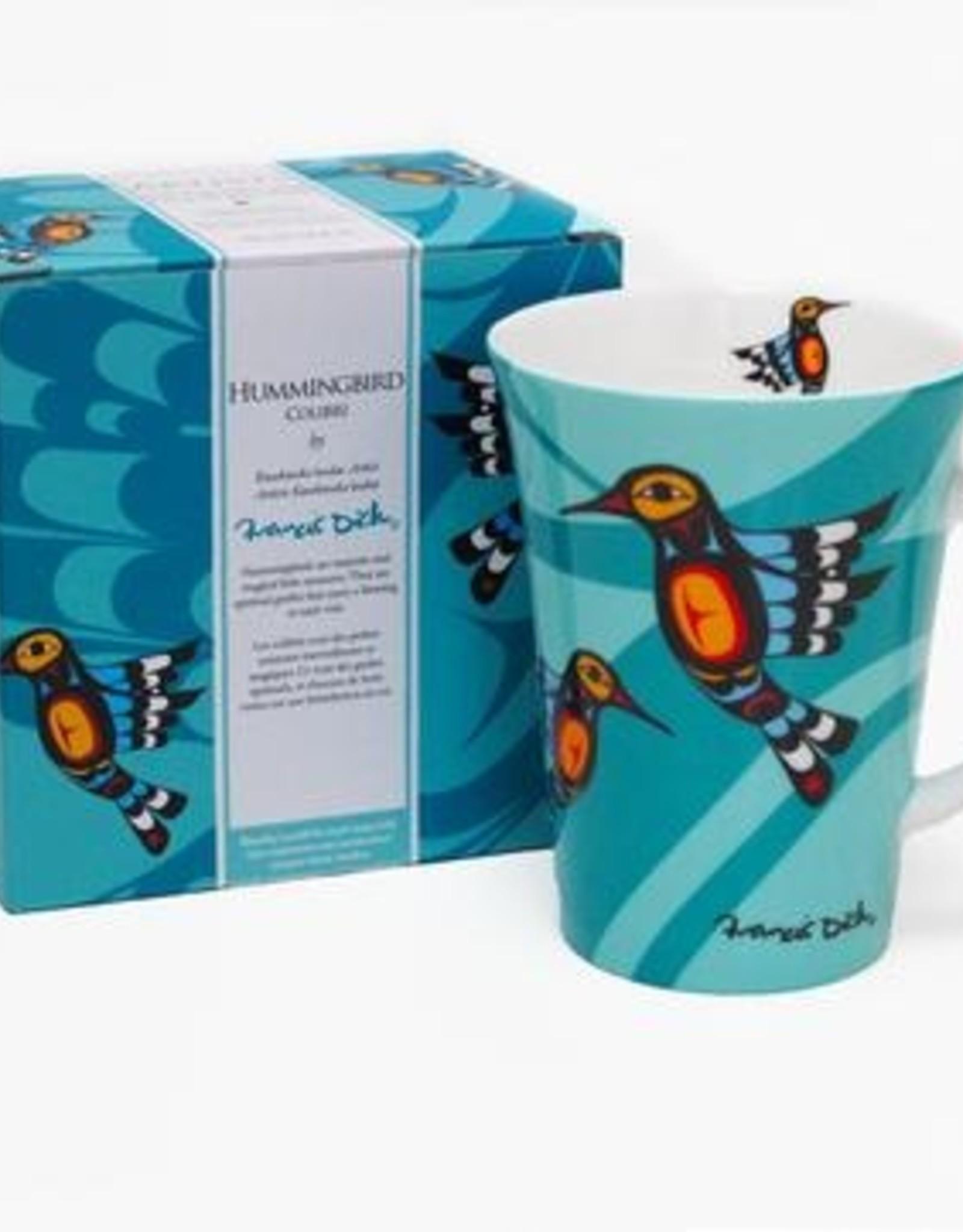 Porcelain Mug- Hummingbird by Francis Dick