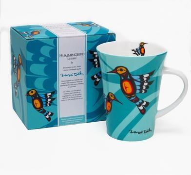 Porcelain Mug- Hummingbird by Francis Dick-2