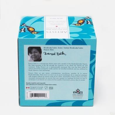 Porcelain Mug- Hummingbird by Francis Dick-3