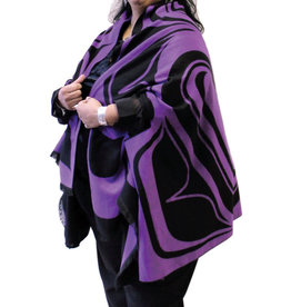Reversible Fashion Cape- Eagle by Roger Smith