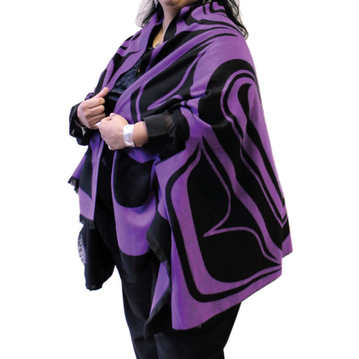 Reversible Fashion Cape- Eagle by Roger Smith-1
