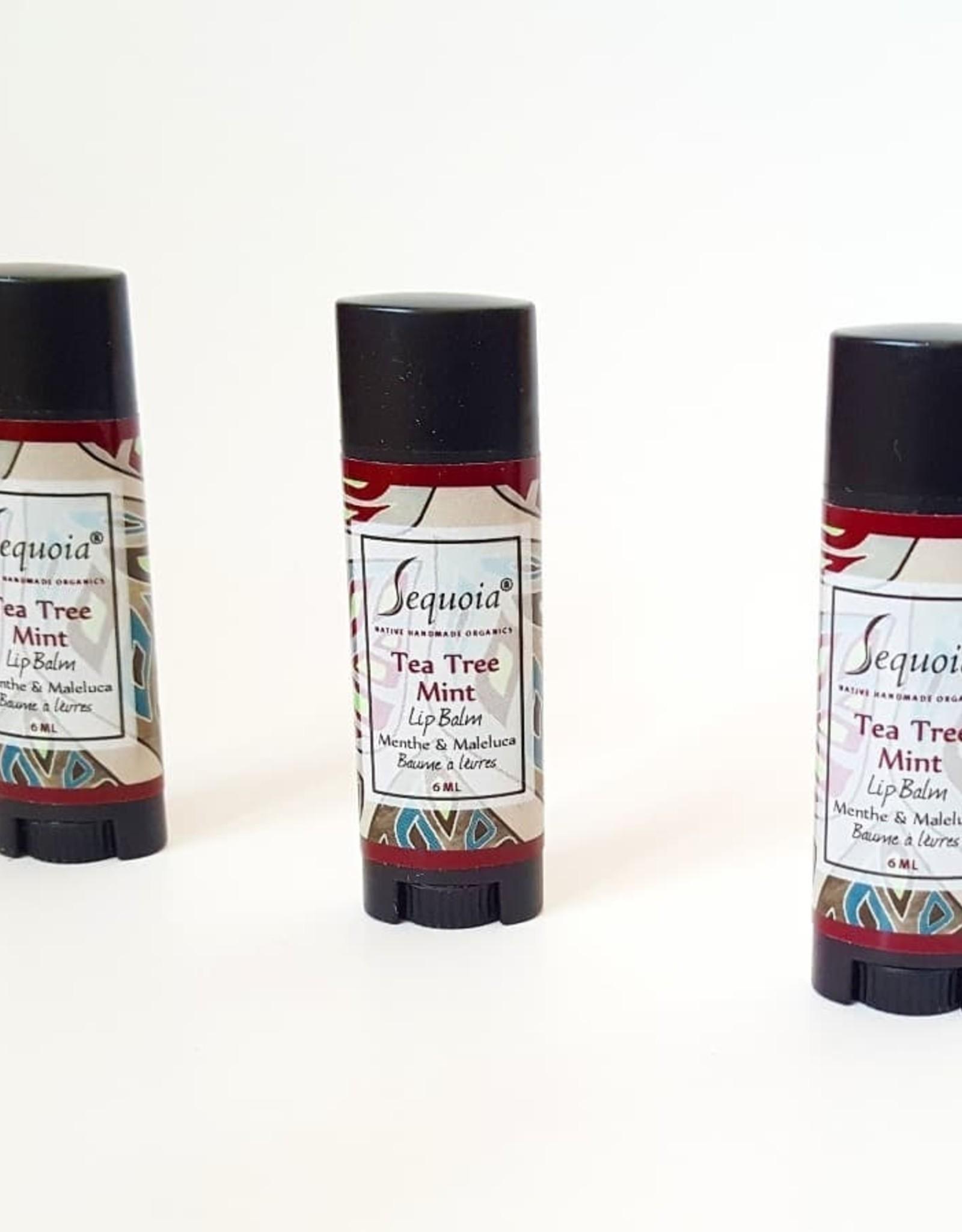 Sequoia Tea Tree Mint Lip Balm