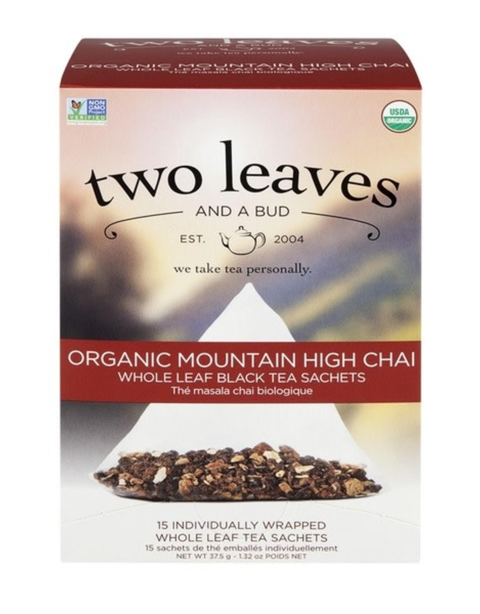 Two Leaves -Mountain High Chai tea