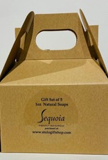 Sequoia mini soap gift set