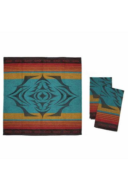 Cloth Napkin- Salish Sunset