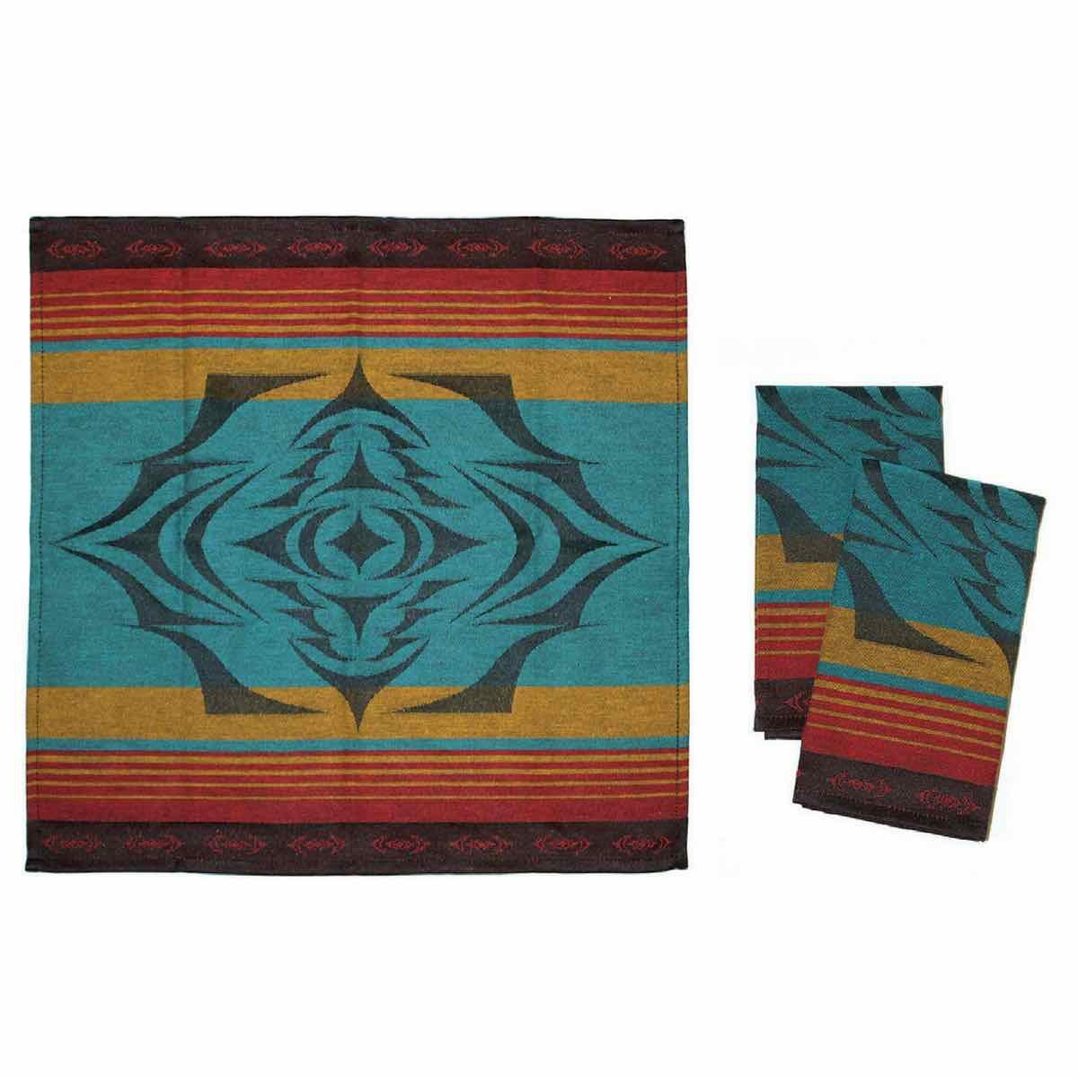 Cloth Napkin- Salish Sunset-1