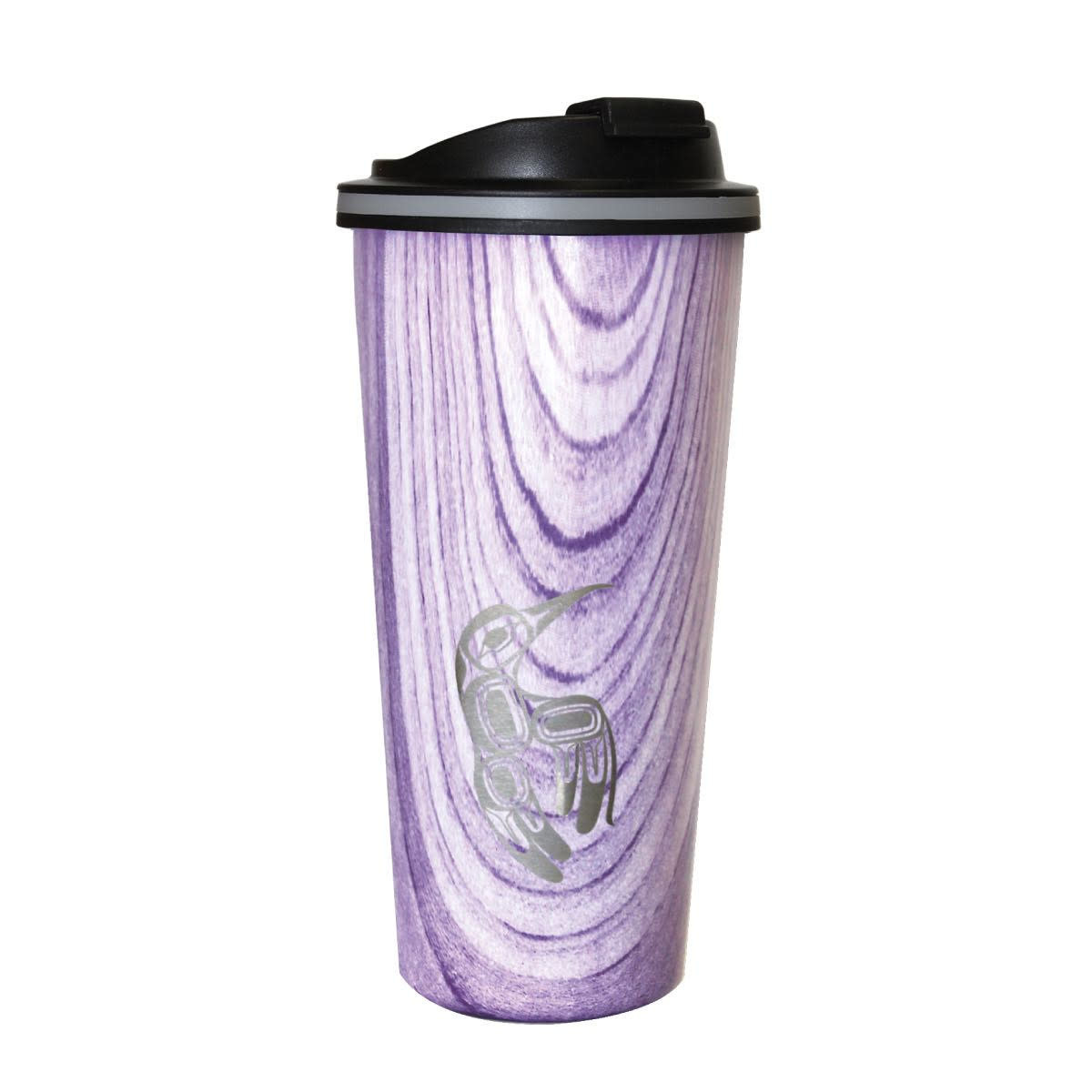 Travel Mug- Wood Grain style.-2
