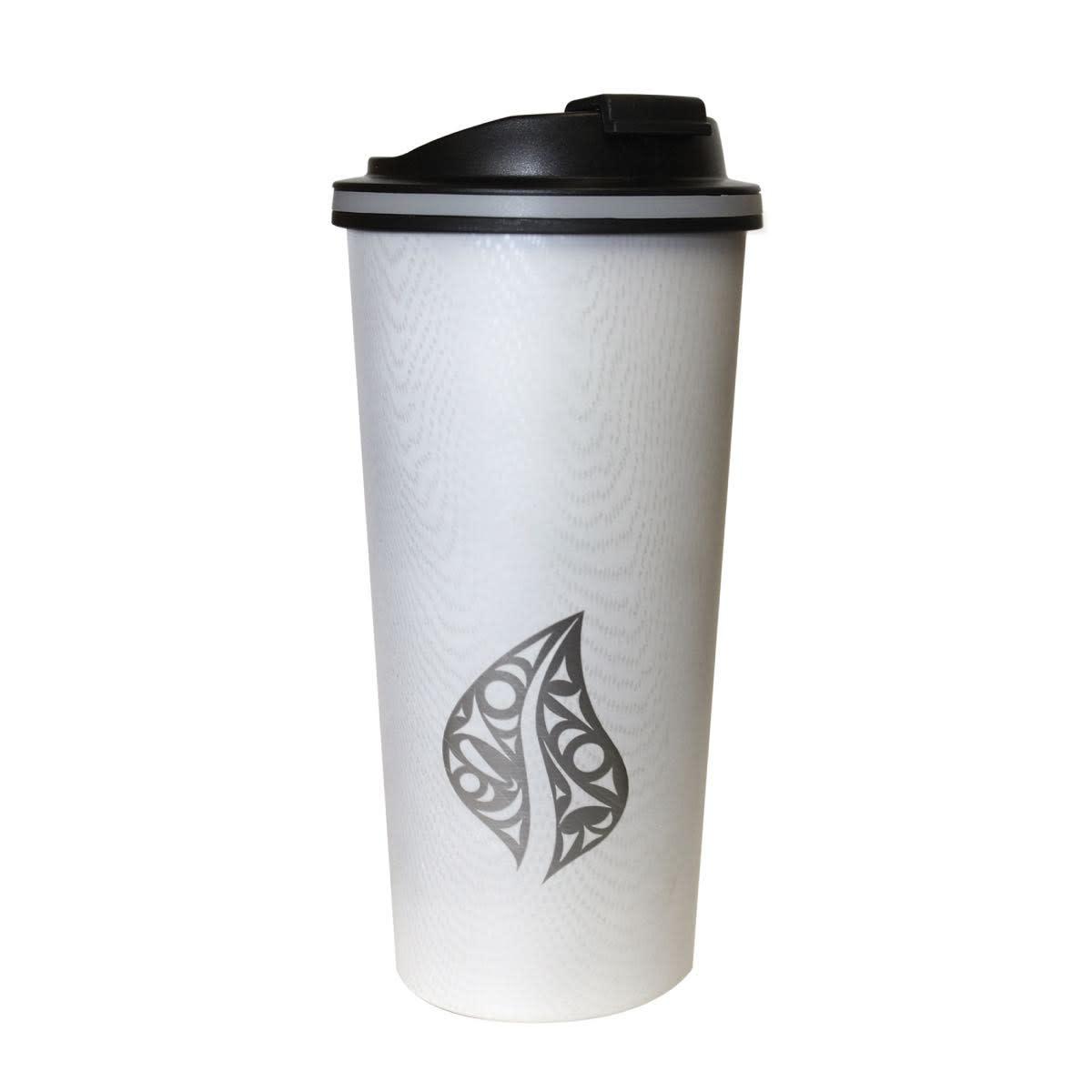 Travel Mug- Wood Grain style.-3