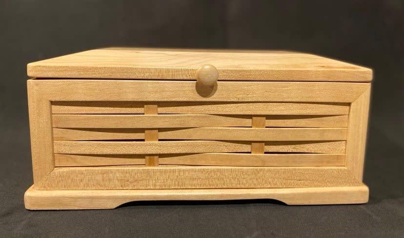 Artisan Hand Crafted Jewelry Box-1