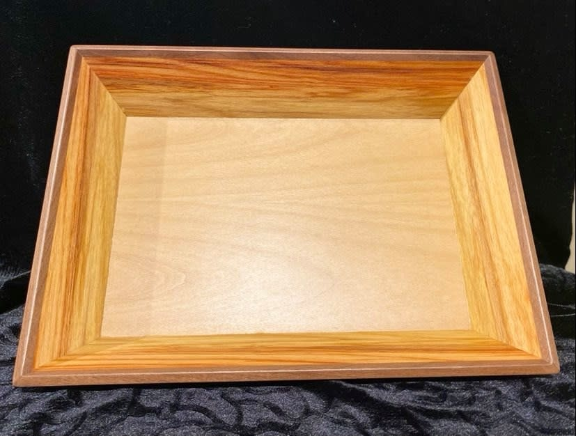 Artisan hand crafted Wooden tray-1