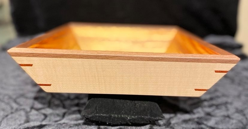 Artisan hand crafted Wooden tray-2