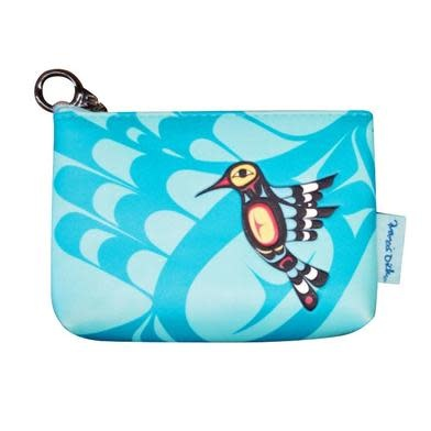 Coin Purse - Hummingbird by Francis Dick-1