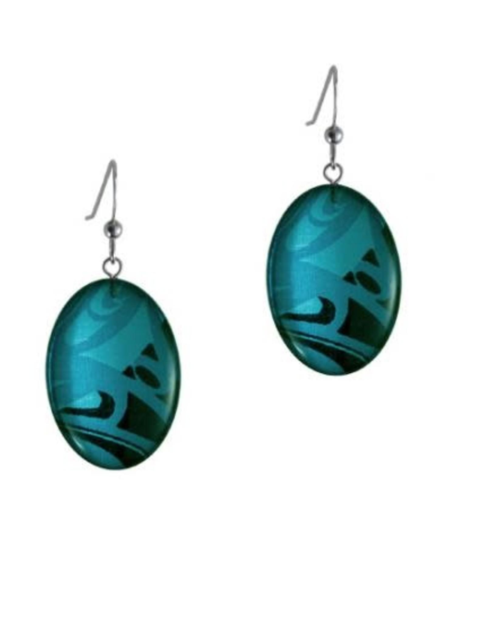 Silk Inspirations Earrings by Corrine Hunt