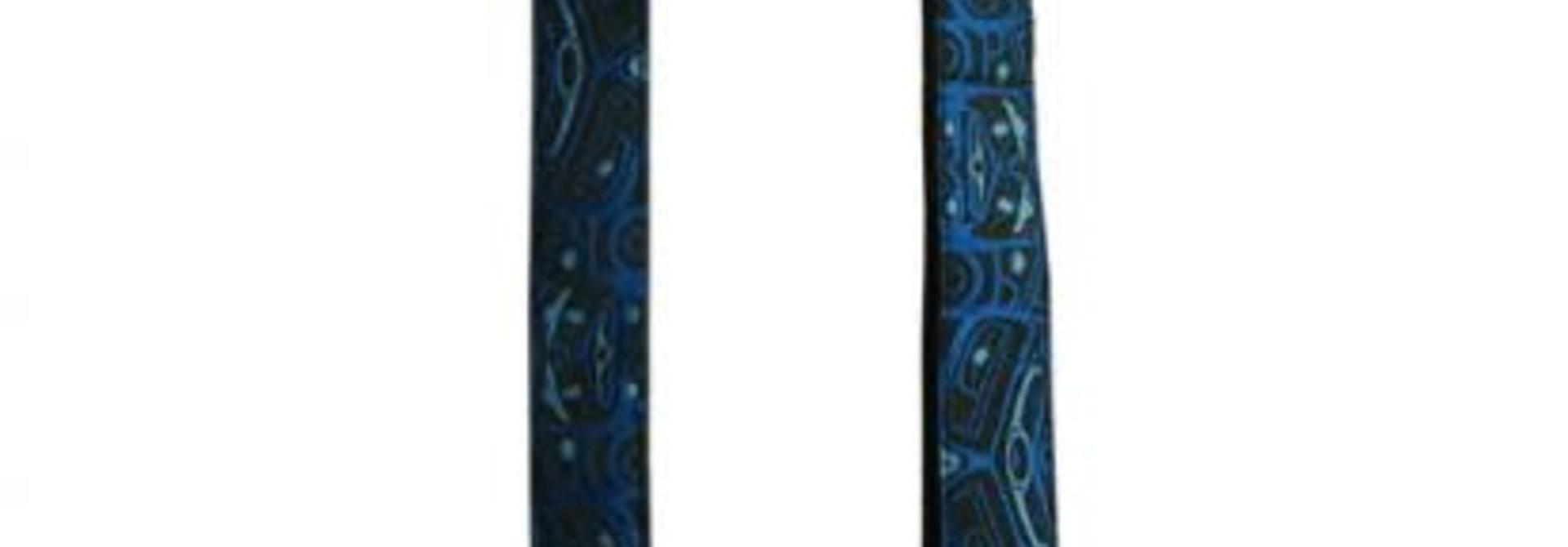 Wild Coast Dog Leash in Bear Box design by Bill Helin -Blue