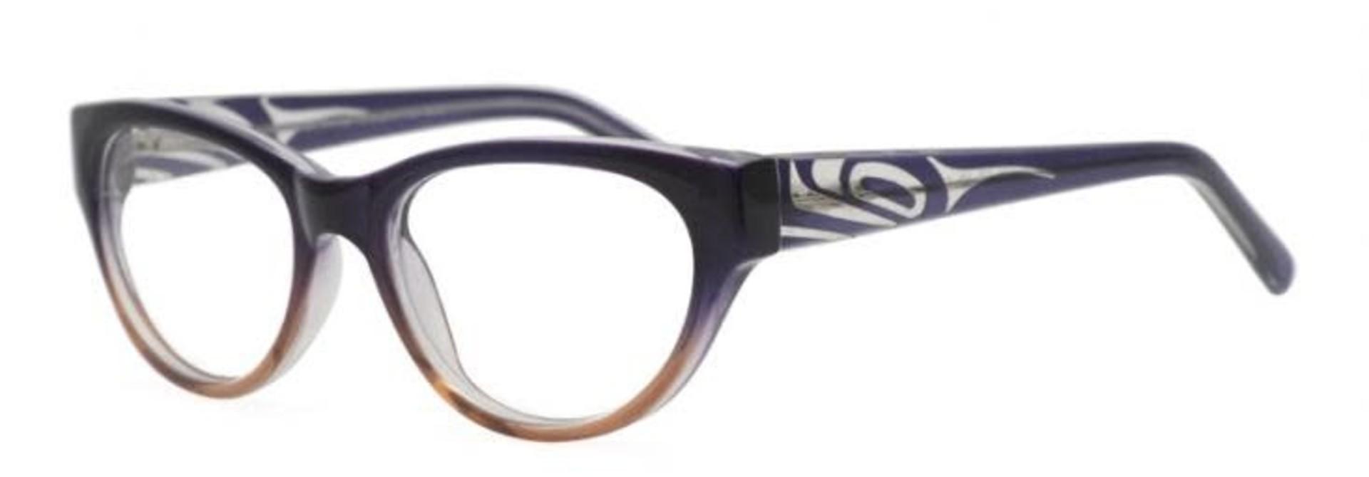Vera Orca Reading Glasses Orca design by Corrine Hunt 1.50