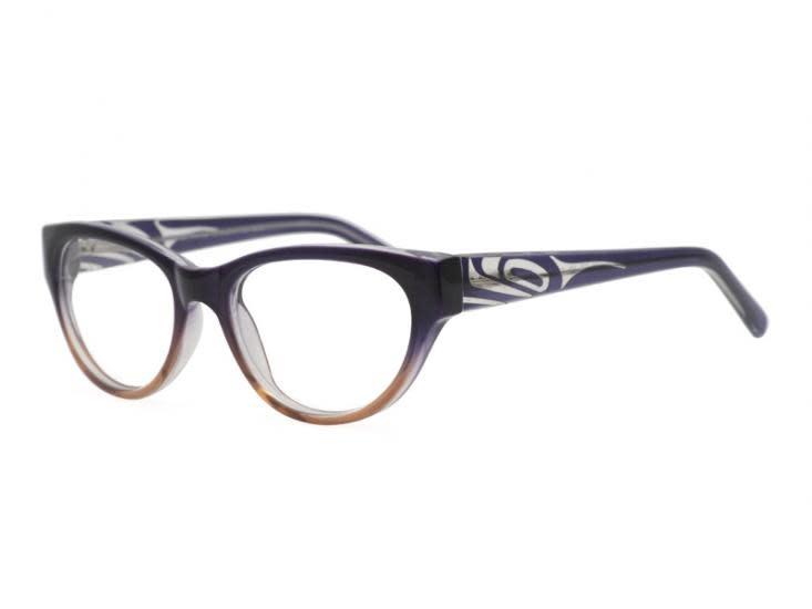 Vera Orca Reading Glasses Orca design by Corrine Hunt 1.50-1