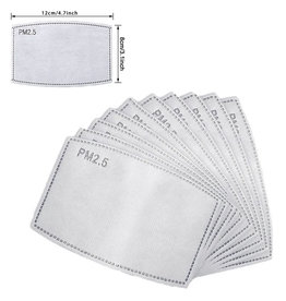 Adult disposable mask filters -10 pack