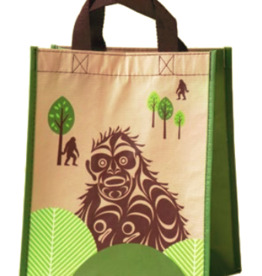 Eco Bag Small - Sasquatch by Francis Horne Sr.