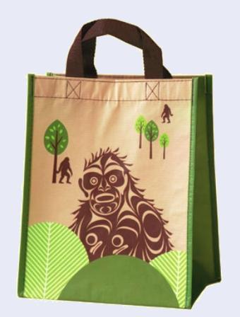 Eco Bag Small - Sasquatch by Francis Horne Sr.-1