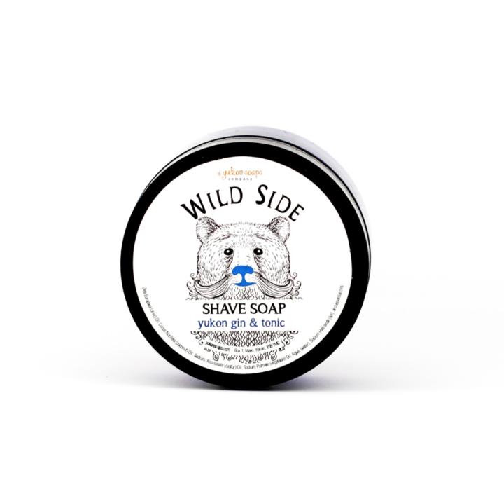 Shave Soap - Black pepper lime-1