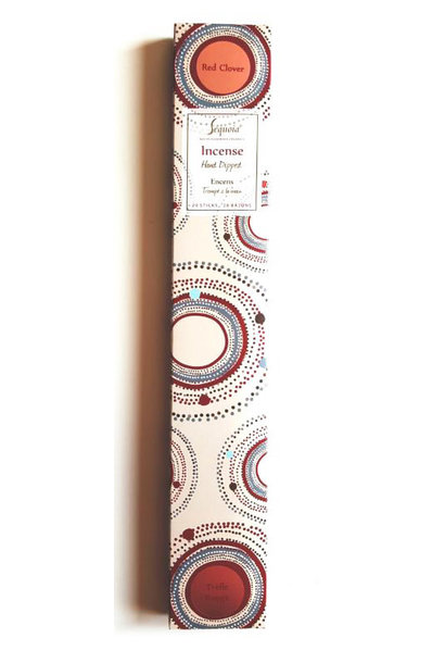 Sequoia Hand Dipped Incense 20 sticks - Red Clover