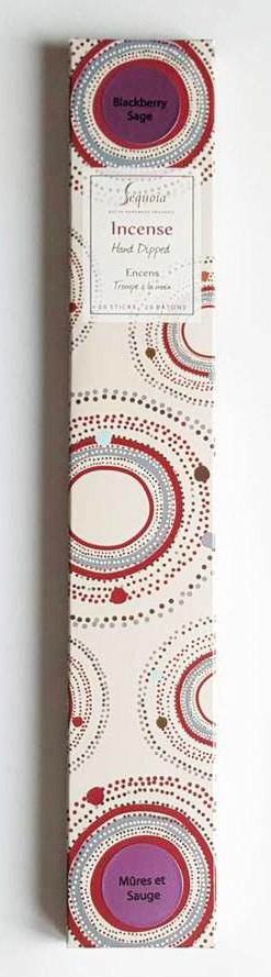 Sequoia Hand Dipped Incense 20 sticks - Blackberry Sage-2