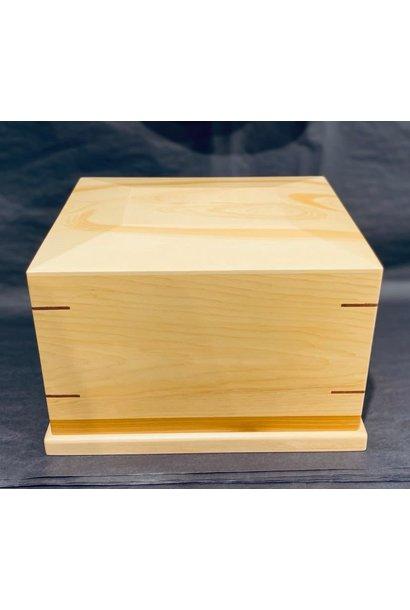 Urn Box - Yellow Cedar