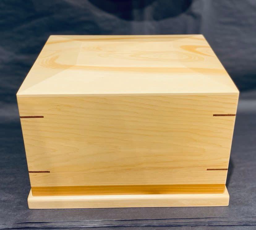 Urn Box - Yellow Cedar-1