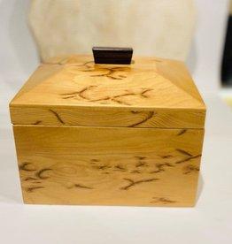Hand Crafted Crowfoot Hemlock Box