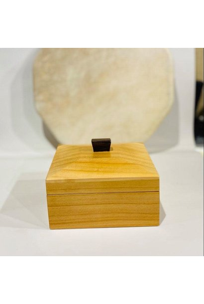 "Hand Crafted ""Cherry Wood"" box"