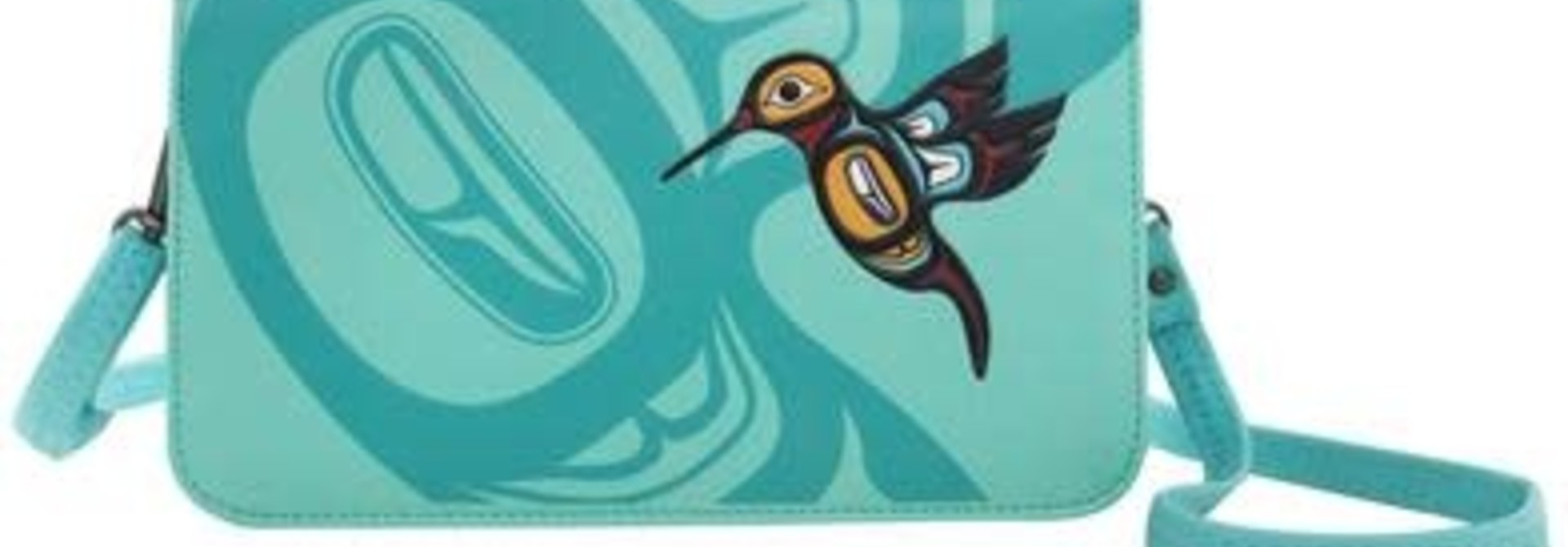 Cross Body Purse -Hummingbird design