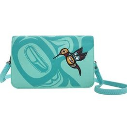 Cross Body Purse -Hummingbird design