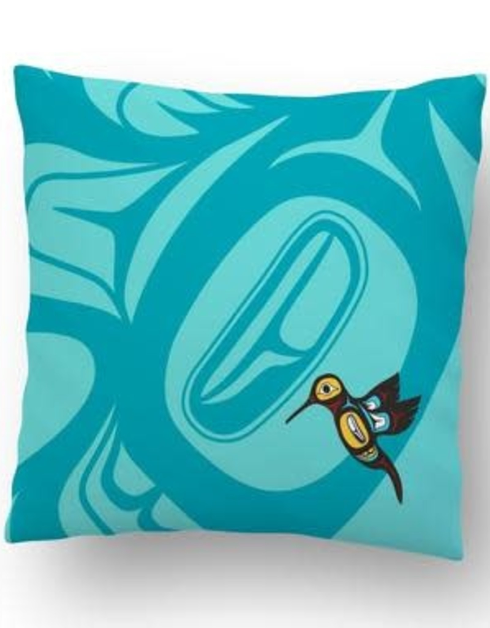 Cushion Cover -Hummingbird by Francis Dick