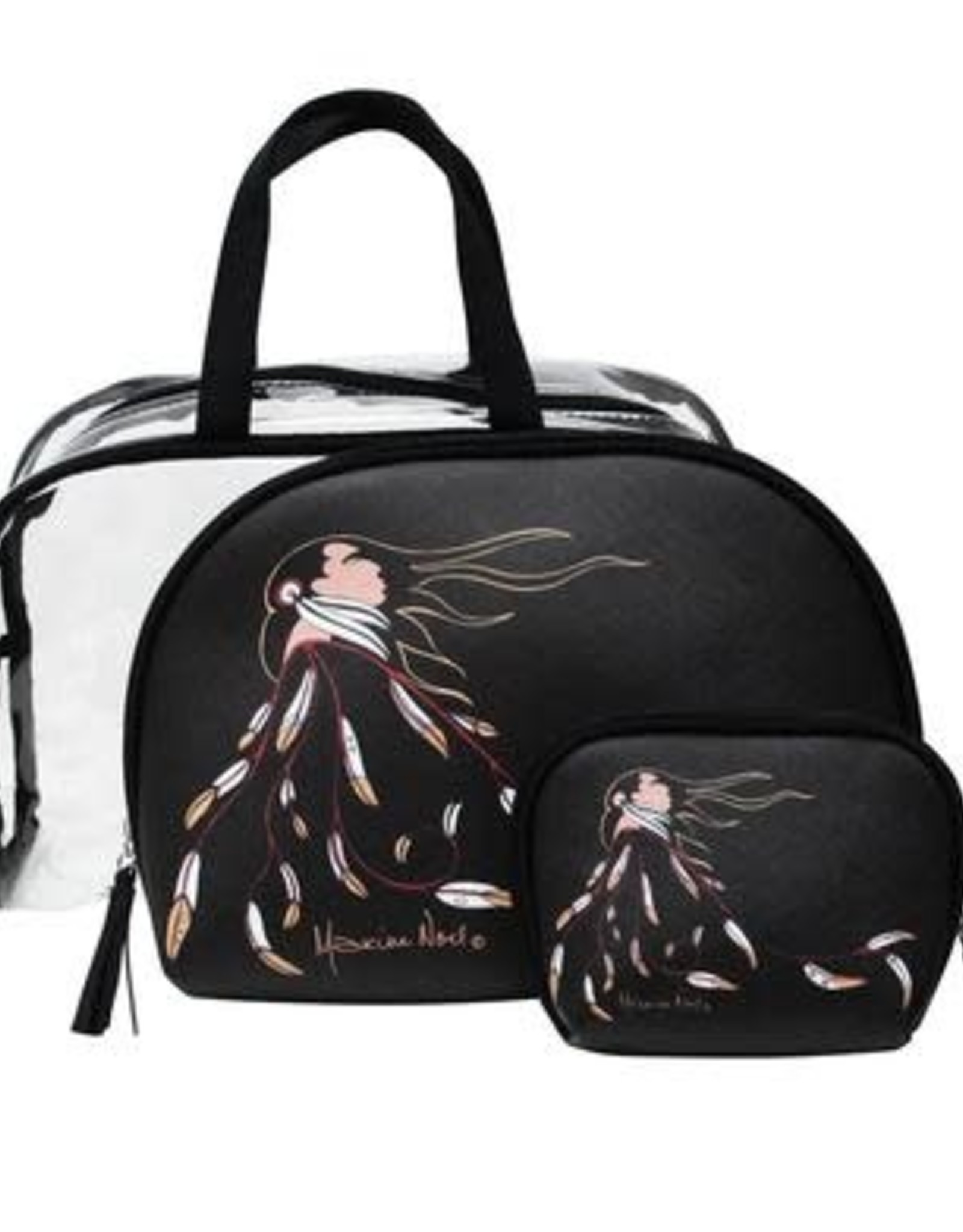 Cosmetic Bag Set -Eagle's Gift by Maxine Noel