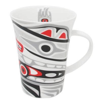 Porcelain Mug -Bear Box Design-1