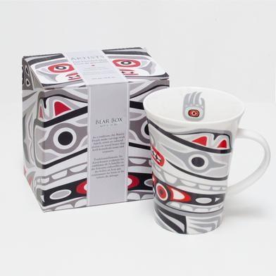 Porcelain Mug -Bear Box Design-2