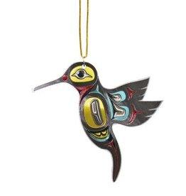Metallic Ornament -Hummingbird