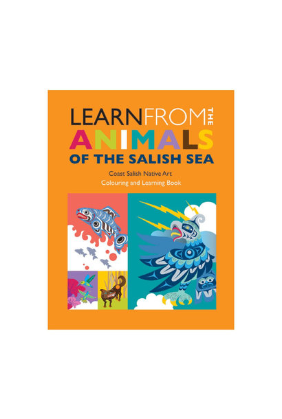 Colouring book-Learn from the Animals of the Salish Sea