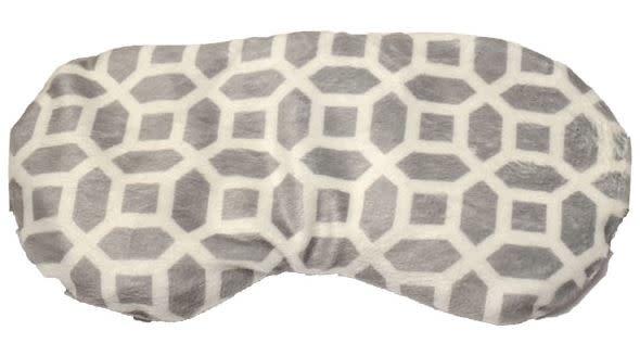 Aromatherapy Clay Bead Eye Mask-Grey & White-1