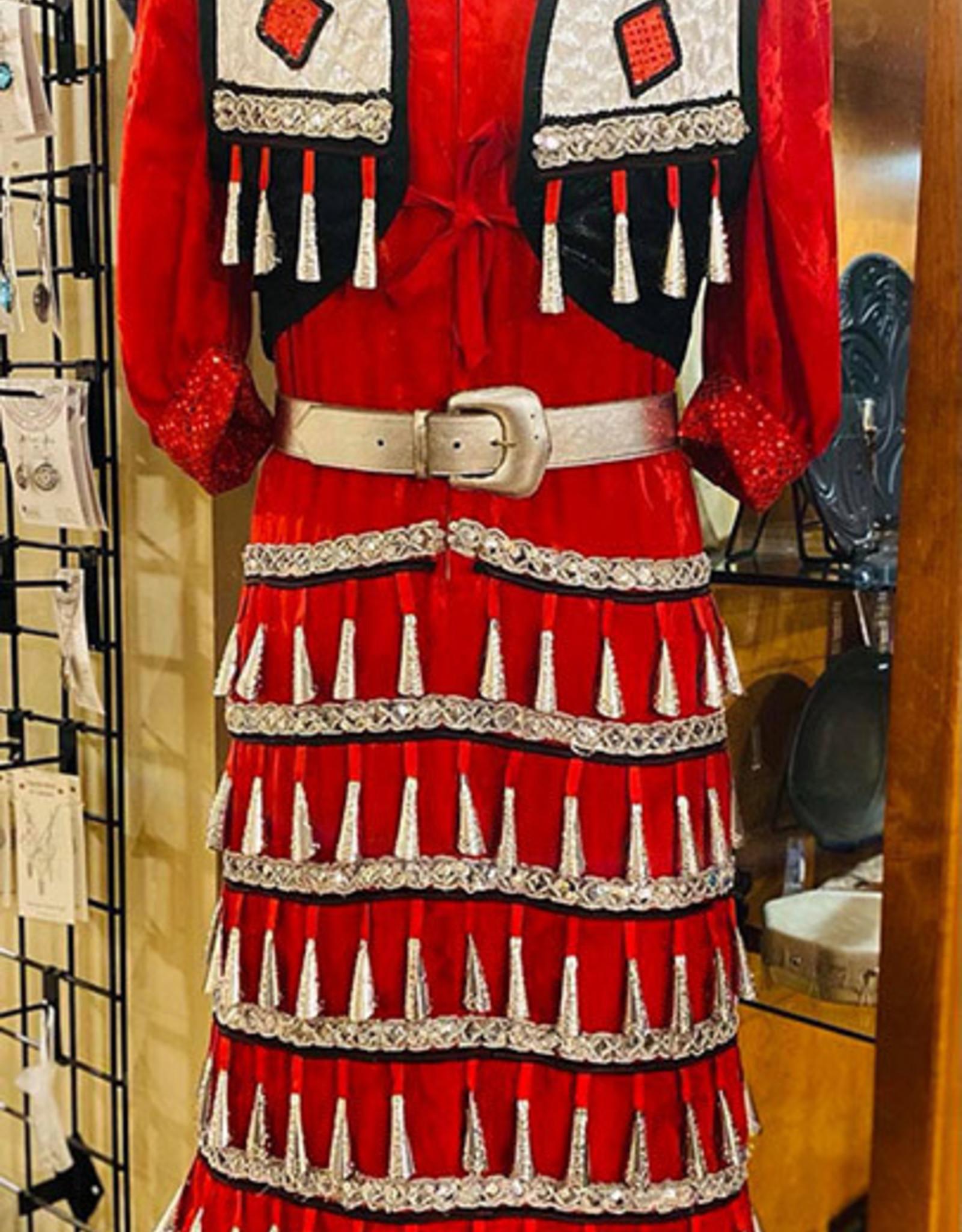 Complete Vintage Handmade Jingle Dress