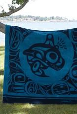 Kanata Blanket-Orca by Bill Helin