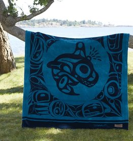 Kanata Blanket-Orca by Bill Helin