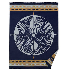 Woven Blanket-Harmony by Francis Horne Sr.