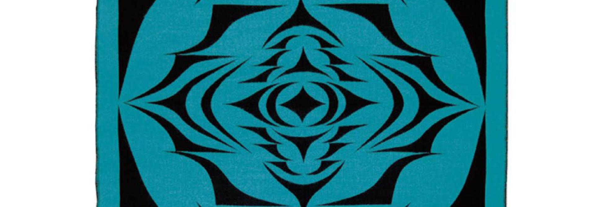 Woven Blanket-Salish Sunset by Simone Diamond