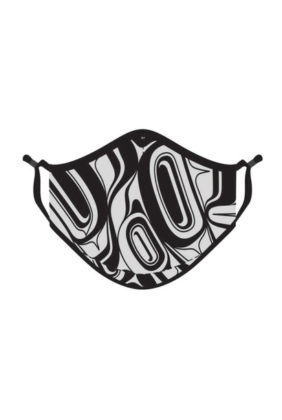Reusable Face Mask -Eagle by Roger Smith