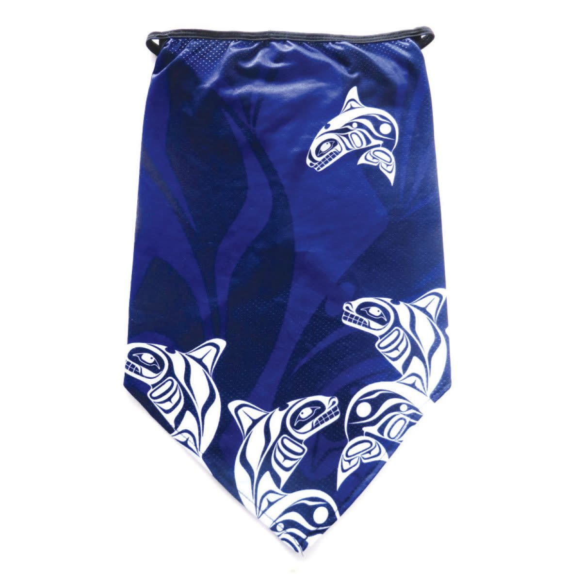 Bandana Gaiter with Ear Loops -Whale by Paul Windsor-1